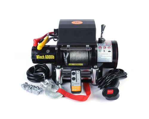 Electric winch 6000lbs
